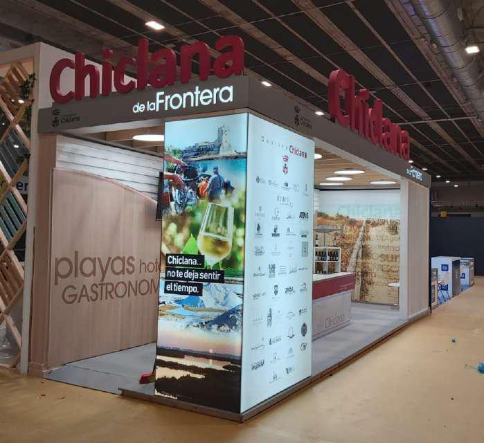 Stands para ferias y exposiciones Chiclana Destino